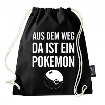 Pokemon - Turnbeutel - Schwarz I I Beutel: Schwarz I Rucksack I Jutebeutel I Sportbeutel I Hipster