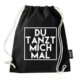 Tanzen - Turnbeutel - Schwarz I I Beutel: Schwarz I Rucksack I Jutebeutel I Sportbeutel I Hipster