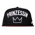 Prinzessin -  Snapback - Schwarz I Rot I Baseball Cap I Basecap I Kappe